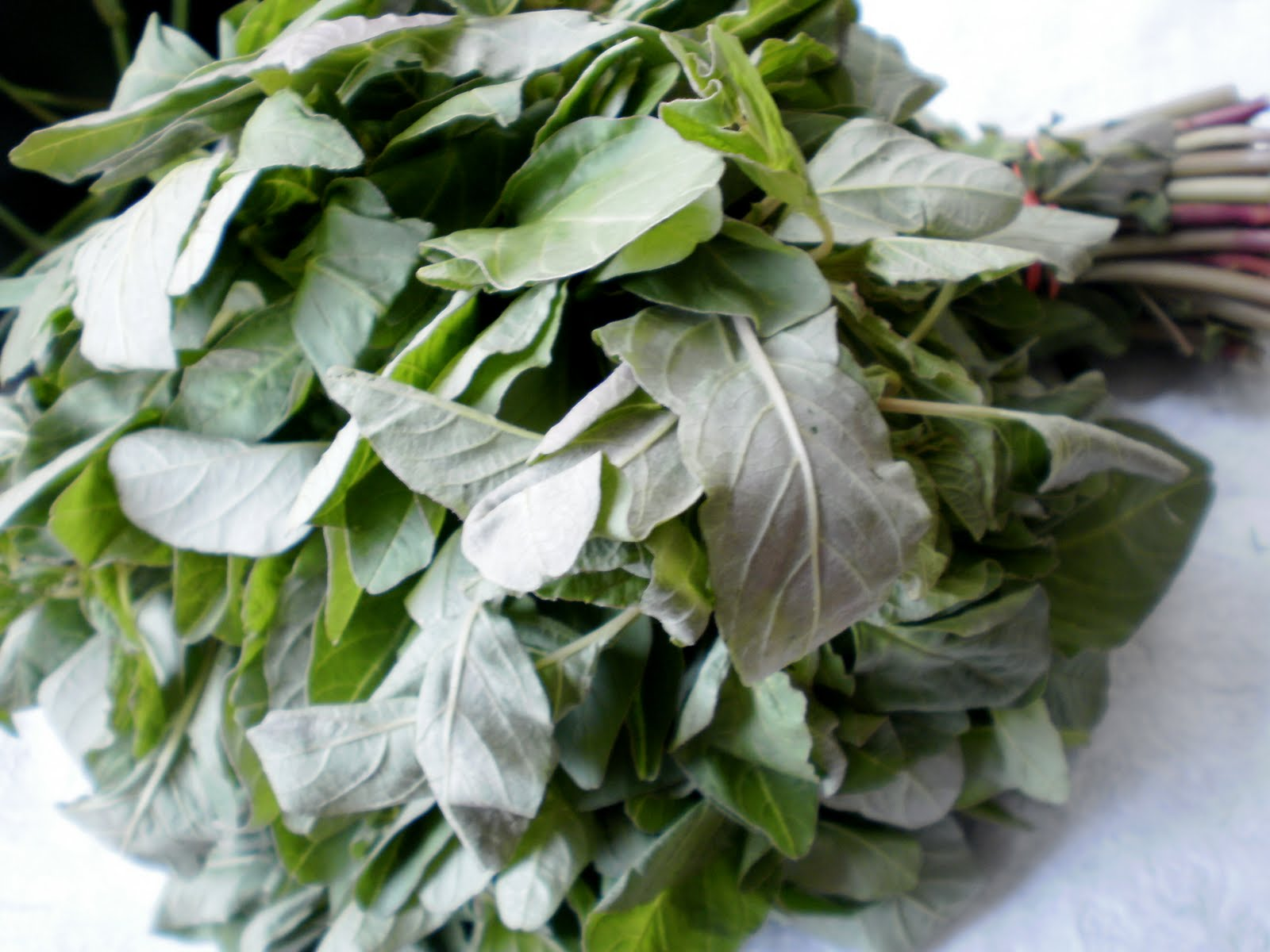 Amaranth leaves – the Jamaican way