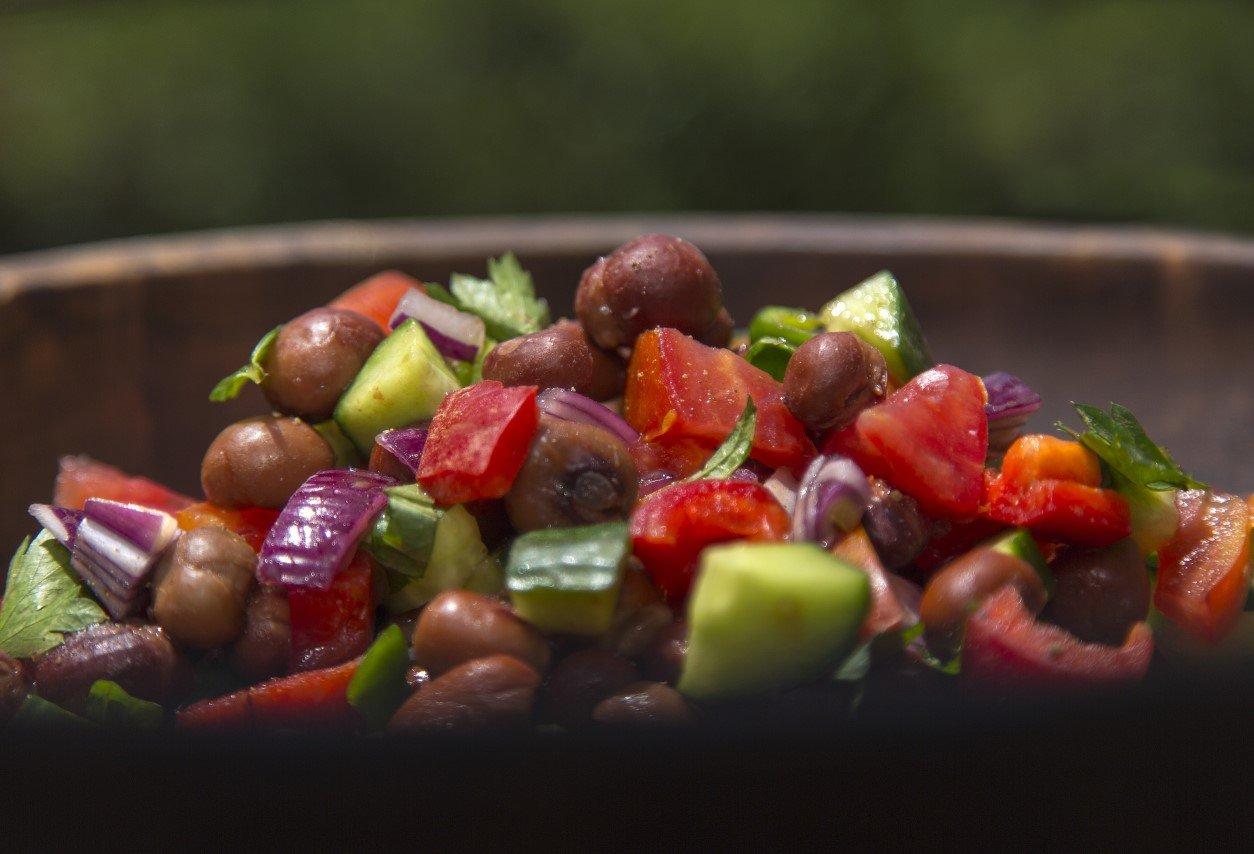 Nyimo bean salad